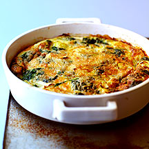 ... .co.uk: Weight Watchers recipe - Spinach and Leek Frittata