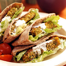 Falafel In Pitta